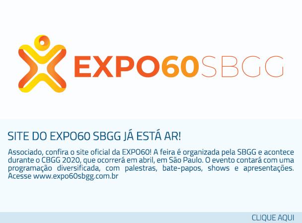 Site do EXPO60 SBGG já está ar!