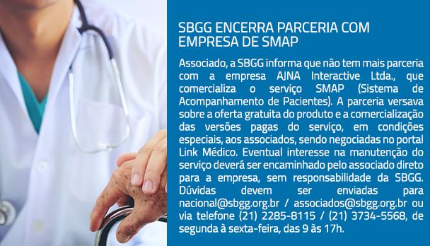 SBGG encerra parceria com empresa de SMAP
